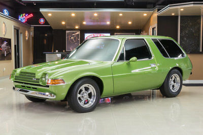 AMC Pacer Wagon Custom Built Pacer! GM 350ci V8 Crate Engine, TH350 Automatic, A/C, PS, PB, Disc