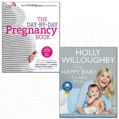 Truly Happy Baby It Worked and Day-by-Day Pregnancy Book 2 Books Collection Set