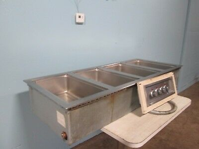 """wells Mod-400"" Hd Commercial Electric ""hot/steam"" 4 Pans Drop In Buffet Insert"