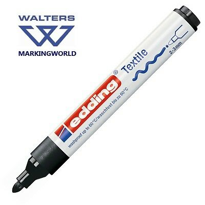 Edding 4500 Textile T-shirt Fabric Marker Pen - Drawing on & Labelling Clothing