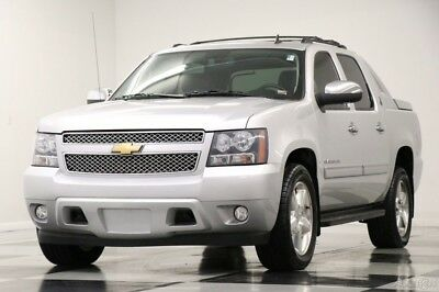 Chevrolet Avalanche LT Sunroof Leather Silver Ice Metallic SUV Used Heated Black Seats Power Options Truck Bluetooth 14 15 2014 13 For Sale