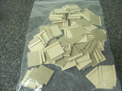 5564 Old Pawn Lot Of 130 Earring Plastic Display Card Holders