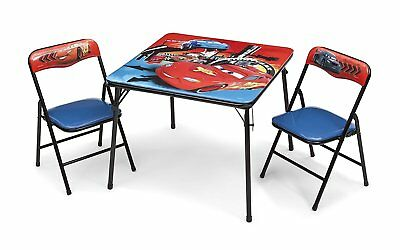 disney cars kindersitzgruppe sitzgruppe klapptisch m bel tisch 2 st hle neu eur 47 95. Black Bedroom Furniture Sets. Home Design Ideas