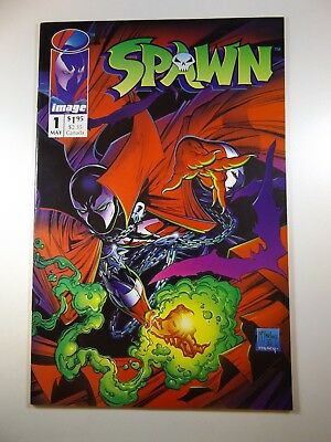 Spawn #1 Todd McFarlane Creation 1st Appearance of Character!! NM-!!