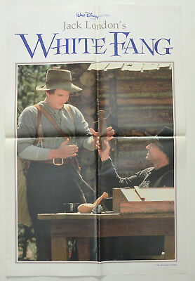 WHITE FANG (1991) Original Double Crown Movie Poster - Ethan Hawke (Version 3)