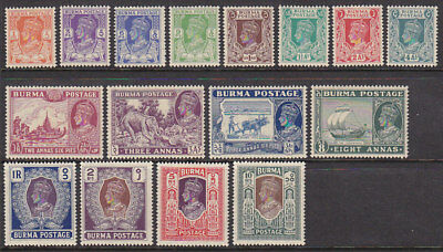 SG  18a/33 1938 Set of 16 MUH