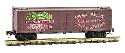 Micro-Trains MTL Z-Scale Heinz Series Car #9 - 36ft Wood Reefer Baked Beans #312