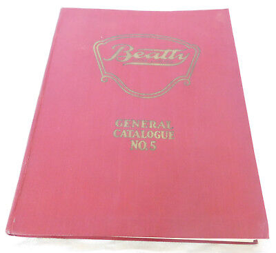 1927 Beatty Bros. General Catalog Book Farm 216 Pages Hardcover Gold Gilt Rare!