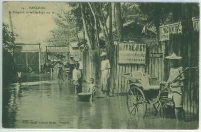 1912 Postcard from Udon to Denmark via Laos