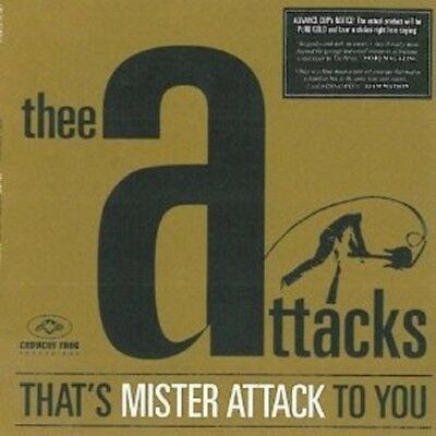 Thee Attacks - That's Mister Attack To You  Vinyl Lp Neu