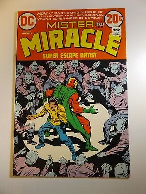 Mister Miracle #15 Origin Issue!! Beautiful VF- Condition!!