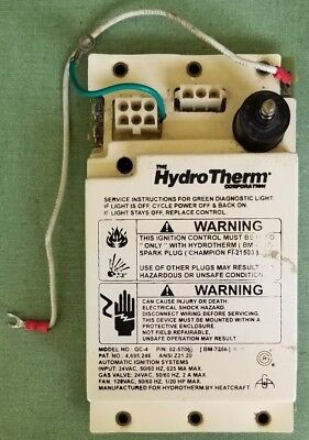 HYDROTHERM 22BM-7254 GC-4 RETROFIT KIT for replacing Hitachi PH605-B