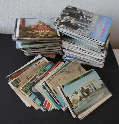 Lot of 1000 US Continental Size Postcards 1,000 US Foreign & Misc
