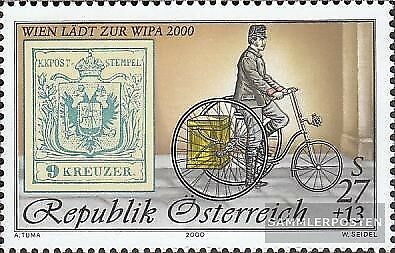 Austria 2222II (complete issue) Year 2000 unmounted mint / never hinged 2000 WIP