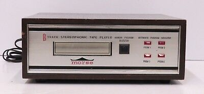MORSE 8 Track Stereophonic Tape Player