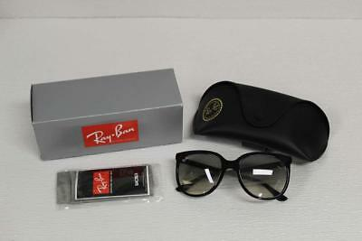 Ray Ban Women's Sunglasses Cats 1000 RB4126 601/32 Black