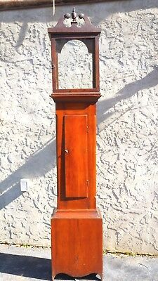 Antique 1800's  Seth Thomas Grandfather Clock (Case Only) Pine Wood