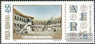 Romania 2808 with zierfeld (complete issue) unmounted mint / never hinged 1969 D