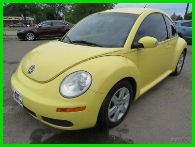 Volkswagen Beetle-New  2007 Used 2.5L I5 20V Automatic FWD Hatchback clean clear title carfax low miles