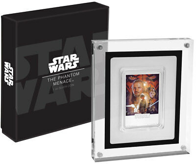 2018 Niue Star Wars Posters - Phantom Menace 1 oz Silver Proof $2 OGP SKU53662