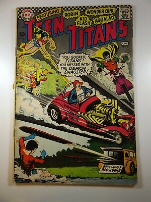 """The Teen Titans #3 """"The Revolt at Harrison High!"""" GVG Condition!!"""