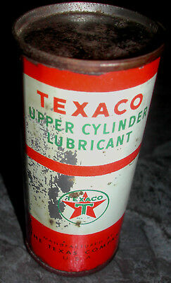 Texaco Upper Cylinder Lubricant NOS full can