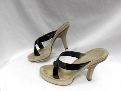 8b5b66f78d111 MADE IN ITALY Women's shoes Leather Prada Vero Cuoio Size 39 1/2 ...