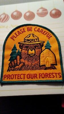 A Smokey Bear  A PLEASE BE CAREFUL. A Licensed item.