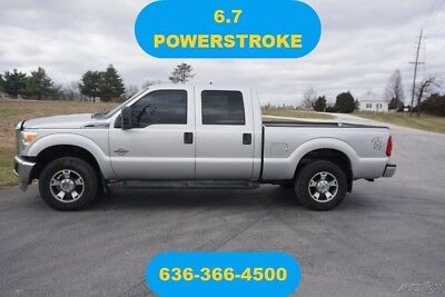 Ford F-250 XLT 2012 XLT Used Turbo 6.7L V8 32V Automatic 4WD Pickup Truck crew cab 1 owner