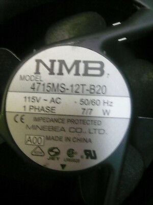NMB Technologies 4715Ms-12T-B20-A00 Axial Fan 119Mm 115Vac 100Ma 50/60 Hz