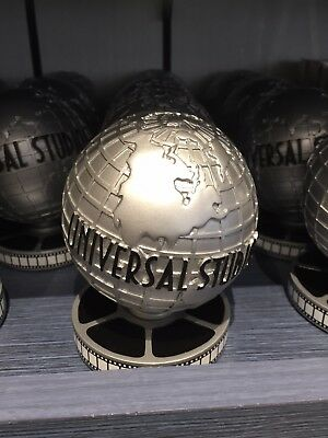 Universal Studios World Globe Logo Resin Figure