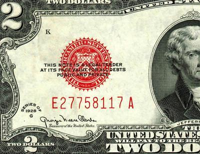 $2 1928G United States Note ** MORE CURRENCY FOR SALE