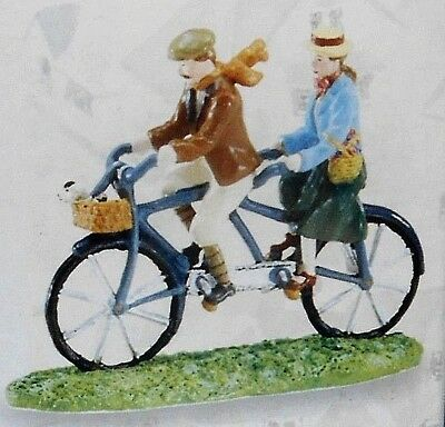 Department 56 Season's Bay A BICYCLE BUILT FOR TWO NIB #56.53412