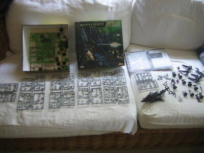 Warhammer 40000 Dark Eldar Battle Force some assembled others intact collection