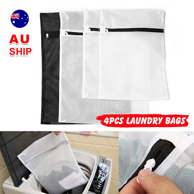 Washing Bag Pack Set Of 4 Laundry Bags Mesh Lingerie Delicate clothes Wash Bags