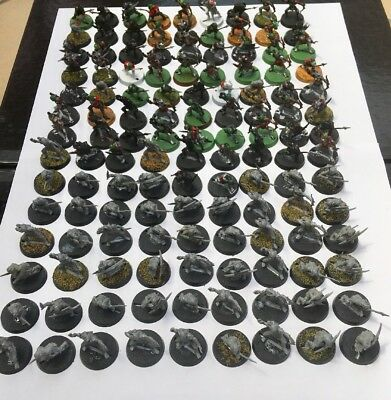 "GW Lord of the Rings "" 126 x plastic Goblins "" bundle / lot"