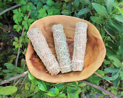 (3) Three Pack Dragons Blood Sage Smudge Stick (Cleansing Negative Energy Resin)