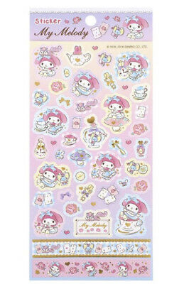2018 Sanrio My Melody Hot-Stamping stickers Sheet Sticker