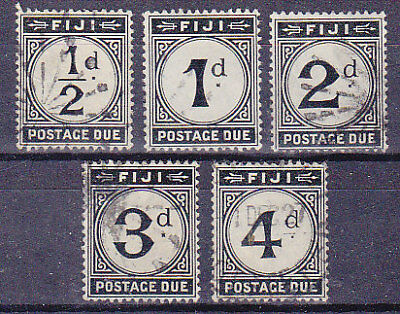 SG D6/10 Postage Due Set of 5 Used