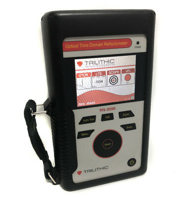 Trilithic TFS-2250 TSF-2000 Dual Wavelength optical time-domain reflectometers