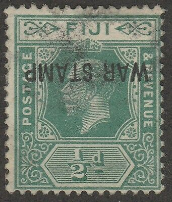 KAPPYSSTAMPS 349 FIJI SCOTT #MRIa USED (?) SMUGED INKING  CATALOG VALUE $700