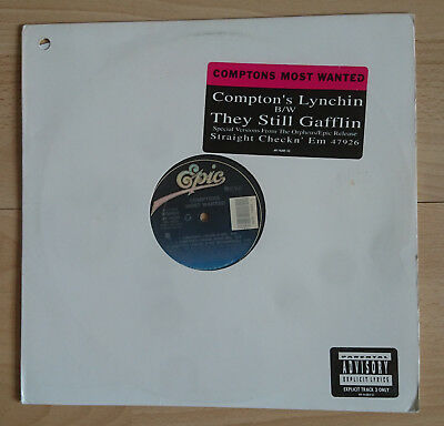 """Comptons Most Wanted - Compton's Lynchin' (12"""" Maxi, US Release, Epic, 1991)"""