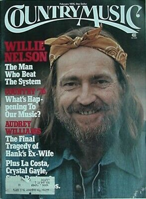 1976 Country Music Magazine (Willie Nelson Cvr