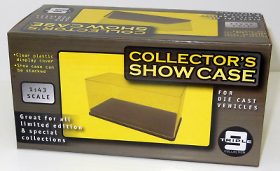 Triple 9 43000 Stackable Display Case for 1:43 Scale Cars