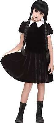 Child Gothic Girl Wednesday Addams The Addams Family Costume