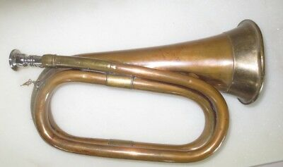 Vintage Brass And Copper Bugle
