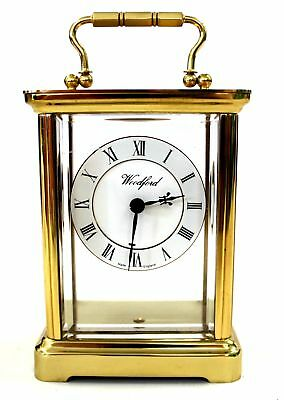 Vintage Brass WOODFORD Quartz Carriage Clock - Repair or Restoration - R22