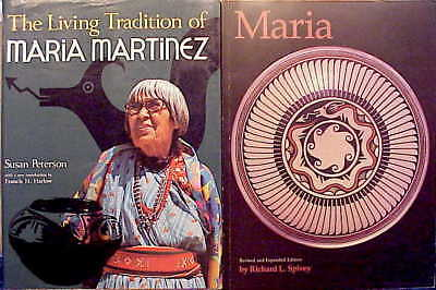 The BEST (2) on MARIA MARTINEZ-THE LIVING TRADITION OF MARIA MARTINEZ and MARIA