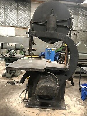 "Tennewitz(?)36"" Vintage Vertical Band Saw"