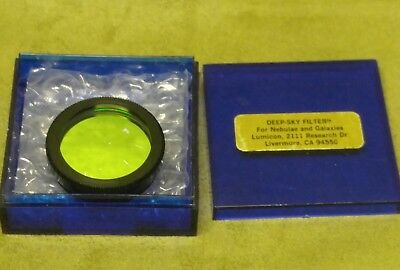 "Lumicon 1.25"" Deep-Sky Filter For Astronomy Telescope - Free Usa Shipping"